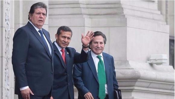 Fiscalía cita a expresidentes García, Toledo y Humala por Proyecto Olmos