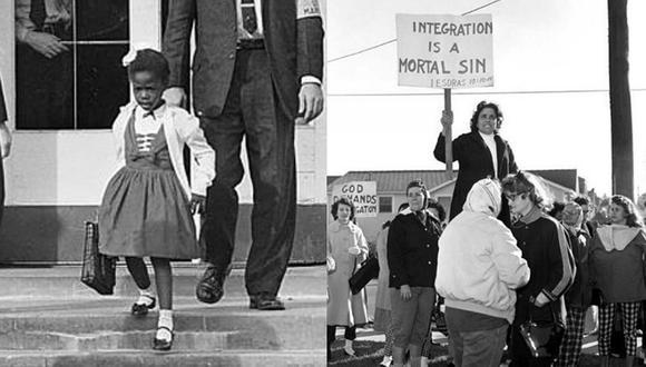 Ruby Bridges: la primera niña afroamericana que asistió a un colegio de 'blancos'