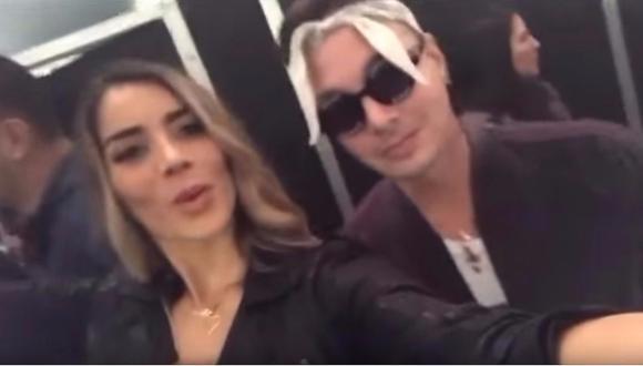 Korina Rivadeneira ya disfruta su libertad y posó junto a J Balbin (VIDEO)