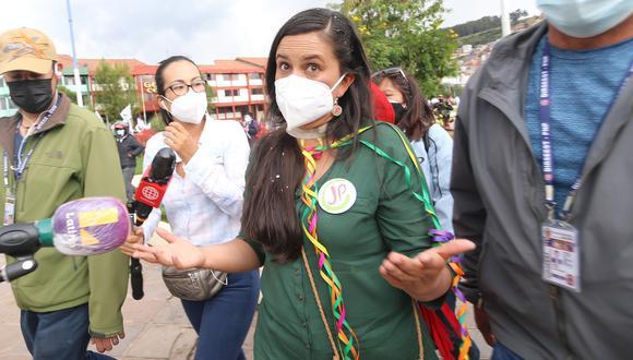 Cusco Verónika Mendoza. Foto: Juan Sequeiros