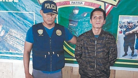 Joven es detenido con droga cerca a parroquia