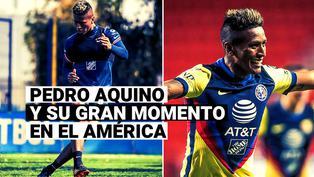 El buen momento de Pedro Aquino en el América y los retos con la Selección Peruana