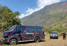 Cuatro millones de soles desaparecen en atraco a camión blindado en Cusco (VIDEO)