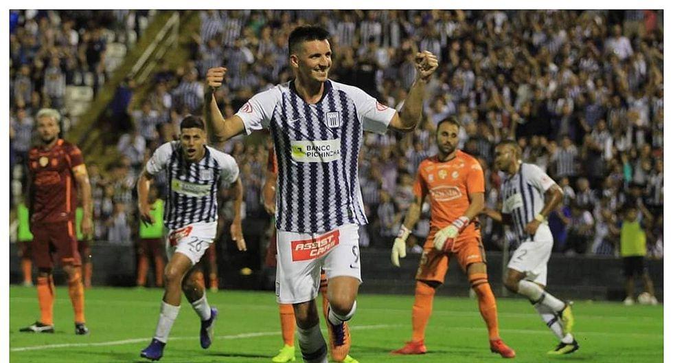 Alianza Lima: Mauricio Affonso se pierde partido ante Internacional por lesión