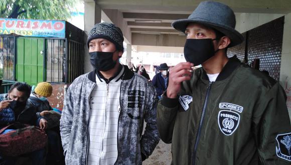 Salieron libres luego de haber sido agredidos