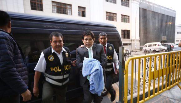 Abel Concha cumple una orden de 18 meses de prisión preventiva desde enero del 2019. (Foto: GEC)
