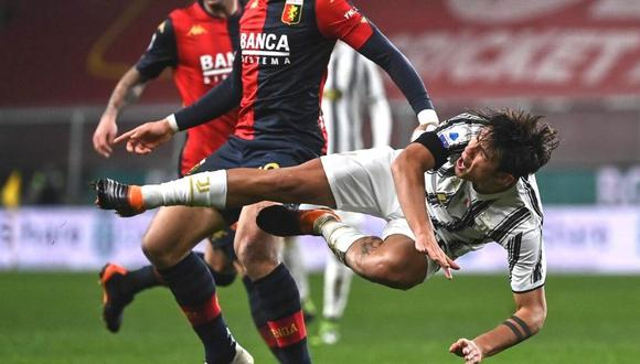 Paulo Dybala recibe dura crítica en la Serie A (Foto: AFP)