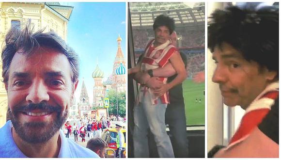 Eugenio Derbez: agente de seguridad lo sacó a la fuerza tras interrumpir transmisión en vivo (VIDEO)