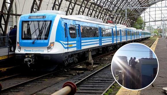 Murió joven que se electrocutó cuando viajaba en el techo de ferrocarril Roca