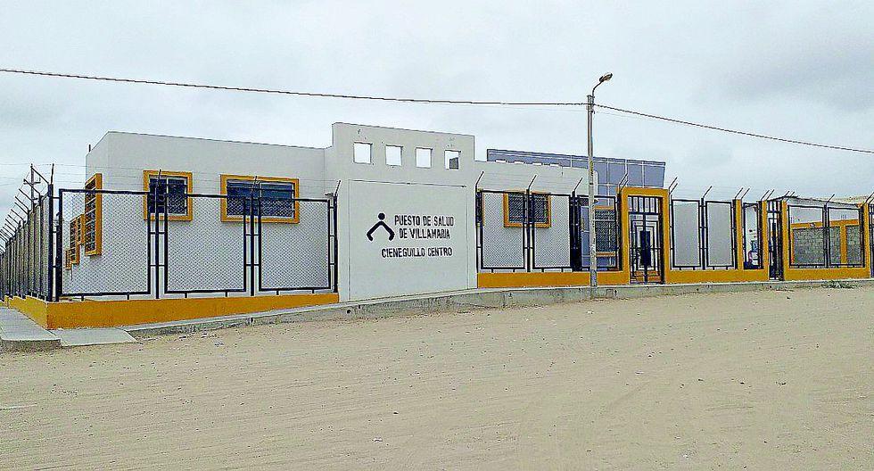 Un moderno centro de salud que fue inaugurado hace 2 años no puede atender a la población