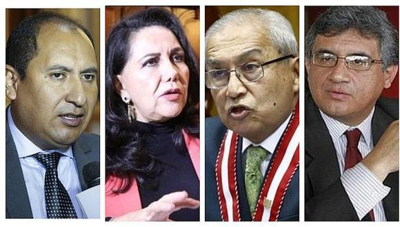 Congresistas de diversas bancadas piden que acusaciones contra Chávarry se analicen en Subcomisión de Acusaciones