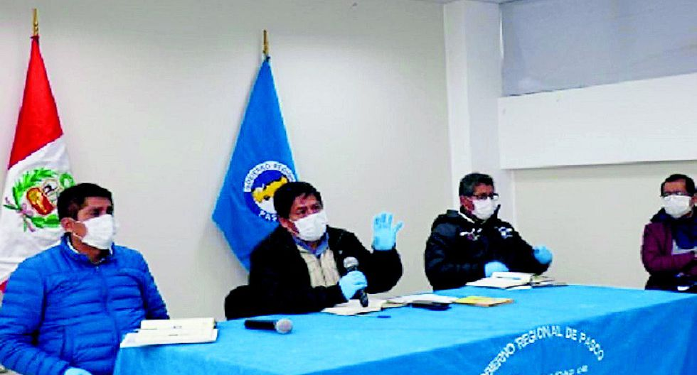 La región Pasco decide cerrar sus fronteras para evitar contagio de coronavirus