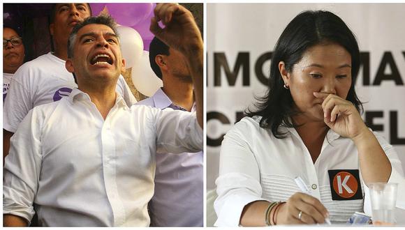 Keiko Fujimori descartó participar en debate presidencial planteado por Julio Guzmán. (Foto: GEC)
