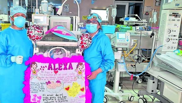 En el hospital El Carmen se recordó el Día del Prematuro