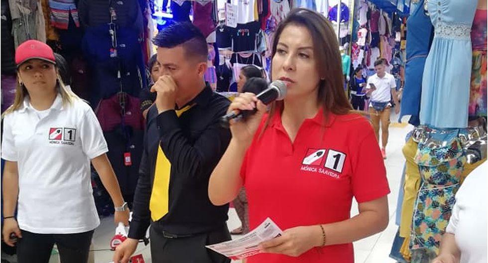 """Candidata de Acción Popular indicó que no tiene """"temor"""" de enfrentar al Poder Ejecutivo. (Foto: Difusión)"""