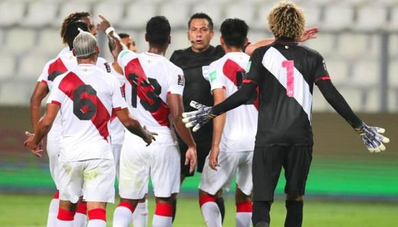 Perú cayó por 4-2 ante Brasil en las Eliminatorias rumbo a Qatar 2022. (Fuente: AFP)