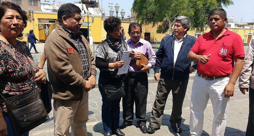 Docentes suspenden la huelga en la región La Libertad