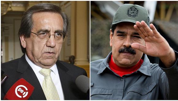 """Jorge del Castillo denunciará a Nicolás Maduro porque su Gobierno """"tiene secuestrado a un peruano"""" (VIDEO)"""