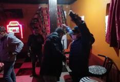 Intervienen tres cantinas en la ciudad de Juliaca