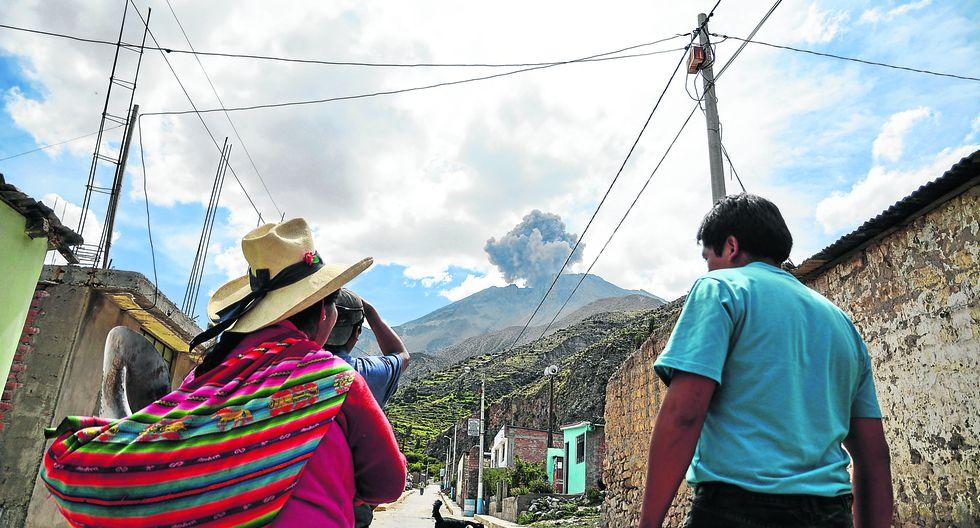 Ubinas y Matalaque  están en emergencia