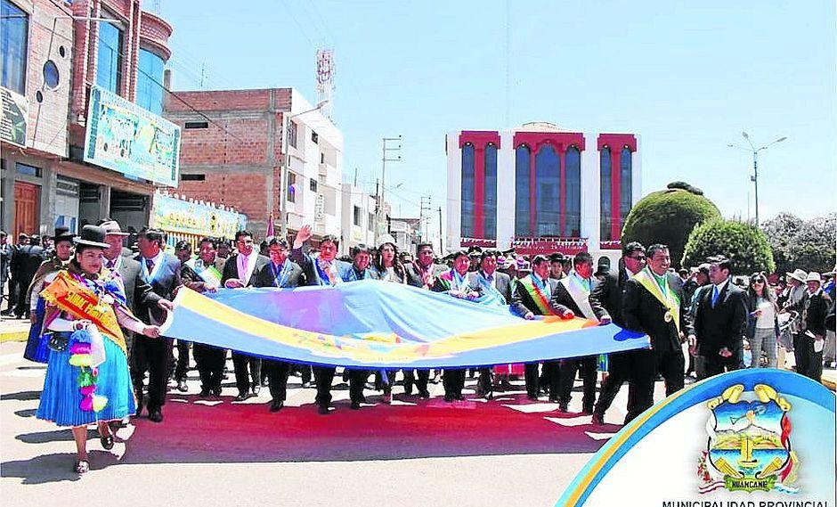 Huancané festejó 192 años de fundación con varias actividades