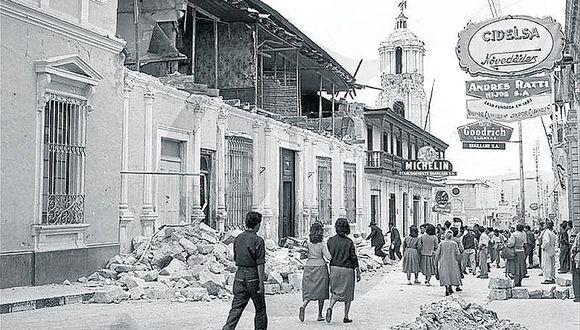 Terremoto de 7.5 grados mató a 63 arequipeños en 1960