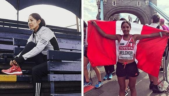 Inés Melchor deja alentador mensaje, pese a no poder participar en  los Juegos Panamericanos (FOTO)