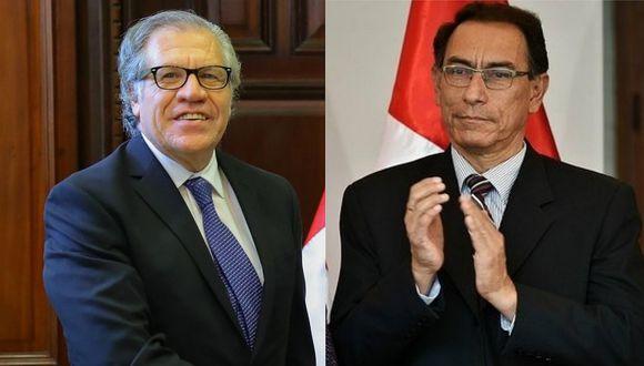 Cumbre de las Américas: Presidente Martín Vizcarra se reúne con la OEA para ultimar detalles