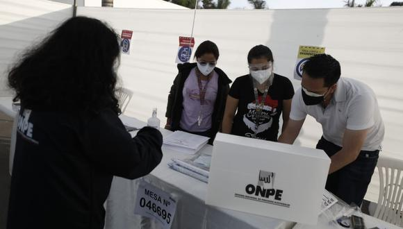 La segunda vuelta de las Elecciones 2021 entre Pedro Castillo y Keiko Fujimori se llevará a cabo el domingo 6 de junio. (Foto: ONPE)