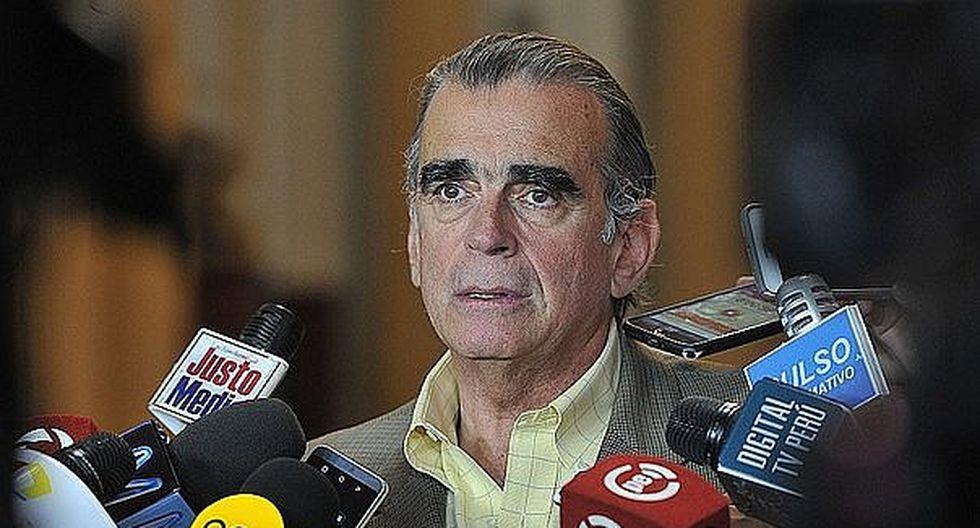 Olaechea sobre incidentes con Del Solar: El que manejaba la mesa era César Vásquez