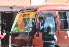 Multa a transportistas supera los 4 millones por incumplir protocolos de sanidad en Arequipa