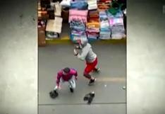Enfrentamiento de ambulantes de Mesa Redonda con fiscalizadores deja 5 heridos