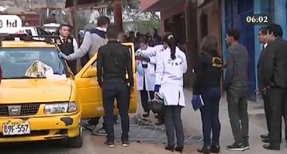 Callao en estado de emergencia: Asesinan a taxista en Mi Perú