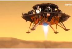 China logra posar con éxito pequeño robot en Marte