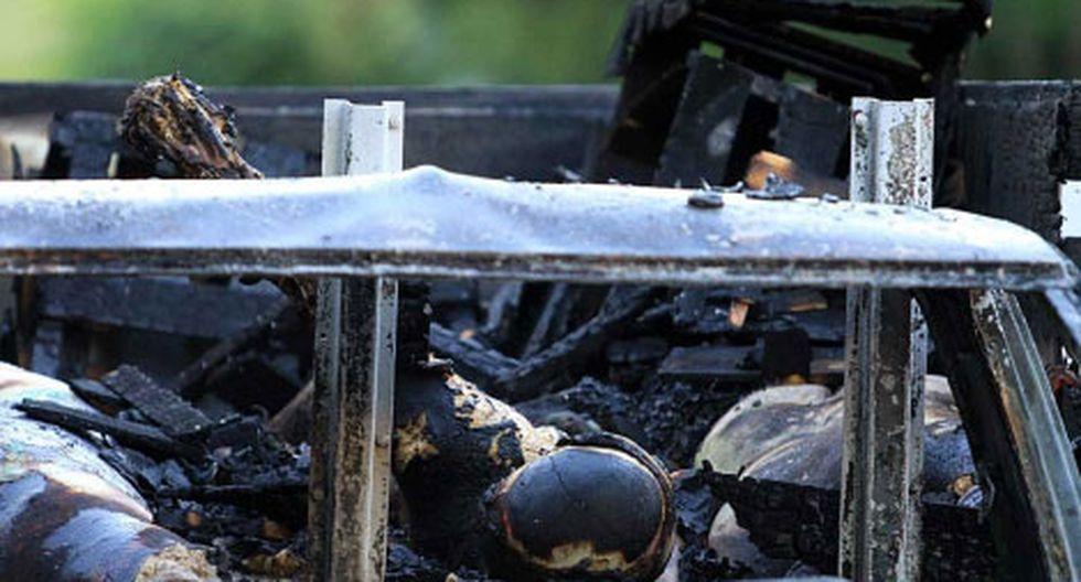 México: Hallan 7 cuerpos calcinados dentro de un vehículo