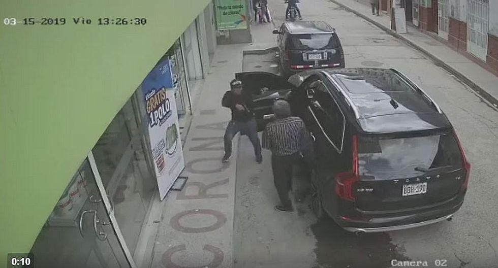 Empresarios en la mira de marcas que asaltan a bordo de motocicletas (VIDEO)