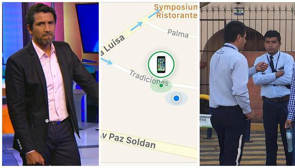 "San Isidro: GPS delata a valet parking de ""Los Portales"" por robo de celular a periodista"