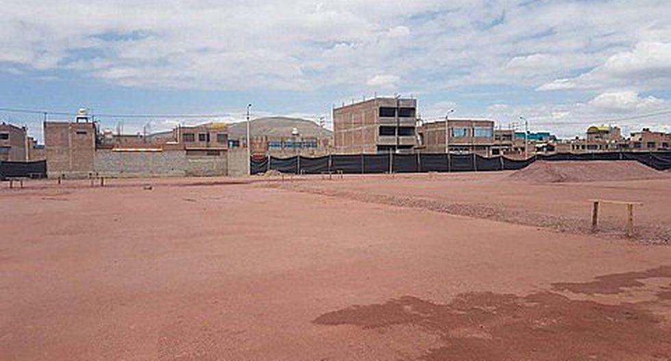 Contraloría detecta retraso en la construcción del colegio Santa Mónica