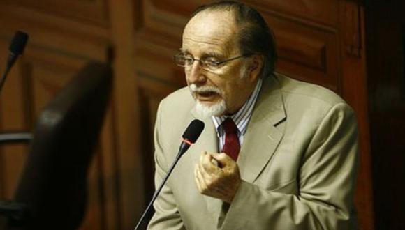 Martín Belaunde Moreyra fue congresista por el partido Solidaridad Nacional. (GEC)