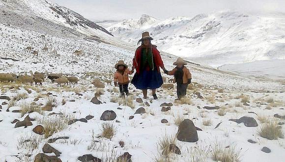 Neumonía por bajas temperaturas ya mató a 85 personas en Cusco (FOTOS)