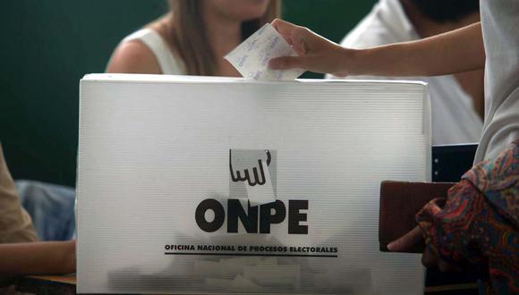 La ONPE detalló sobre elecciones internas de partidos.