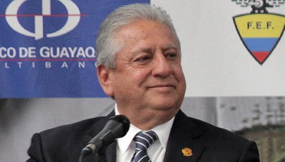 Disponen traslado a prisión de expresidente de Federación Fútbol de Ecuador