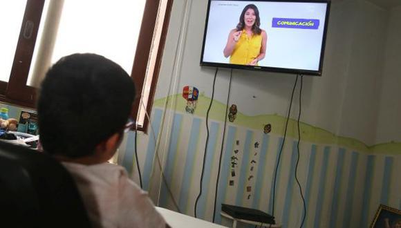 Programa a distancia Aprendo en casa está dirigido a los niveles inicial, primaria y secundaria hasta que se retome la modalidad presencial. ( (Foto: GEC)