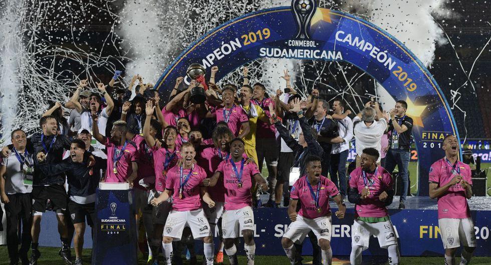 Independiente del Valle fue campeón de la Copa Sudamericana y también va al grupo A