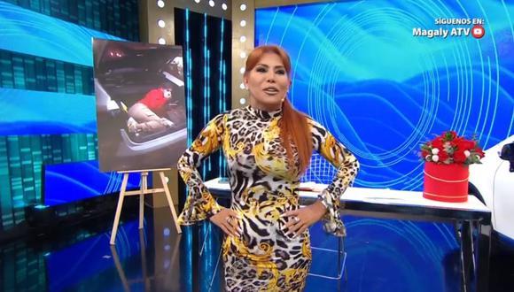 Magaly Medina agradeció en su cuenta de Instagram por ser catalogada como la reina de los espectáculos, (Foto. ATV )