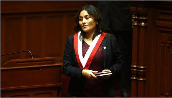 Comisión de Ética evalúa hoy denuncia contra Marita Herrera