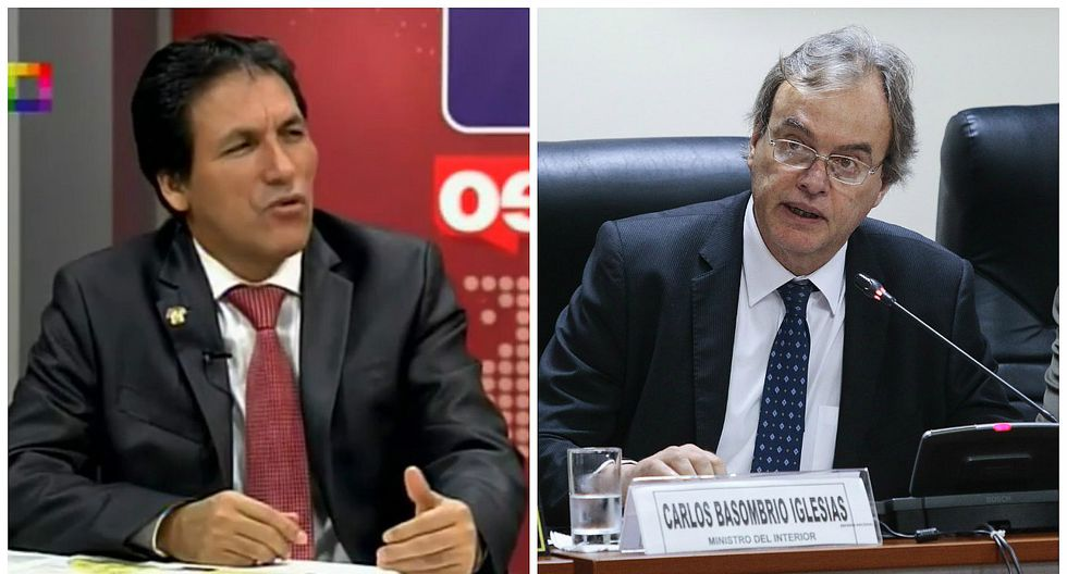 """Segundo Tapia sobre interpelación a Carlos Basombrío: """"Aquí no hay un tipo de revancha, de venganza"""""""