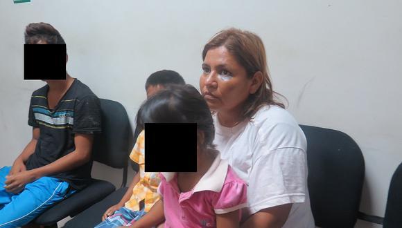 Tumbes: Hijos de mujer golpeada serán llevados a un albergue en Huánuco