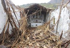 Iglesia histórica de 206 años fue abandonada por las autoridades en Huancavelica