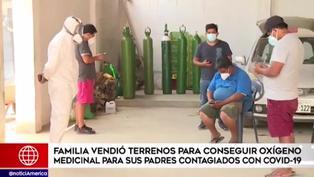 Hijos venden sus terrenos y microbuses para salvar a sus padres del COVID-19 (VIDEO)